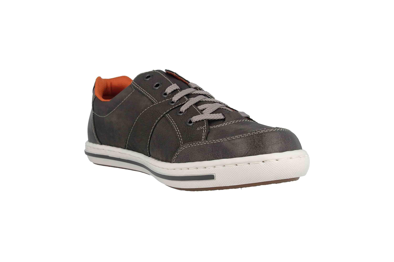 Rieker Sneaker in Übergrößen Grau 19013-43 große Herrenschuhe – Bild 5