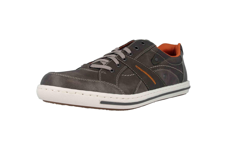 Rieker Sneaker in Übergrößen Grau 19013-43 große Herrenschuhe – Bild 6