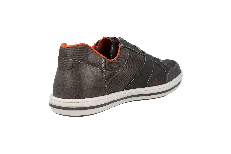 Rieker Sneaker in Übergrößen Grau 19013-43 große Herrenschuhe – Bild 3