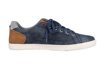 Mustang Shoes Sneaker in Übergrößen Blau 4120-302-800 große Herrenschuhe – Bild 4
