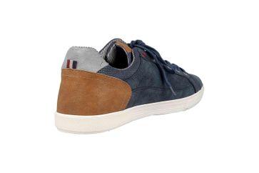 Mustang Shoes Sneaker in Übergrößen Blau 4120-302-800 große Herrenschuhe – Bild 3