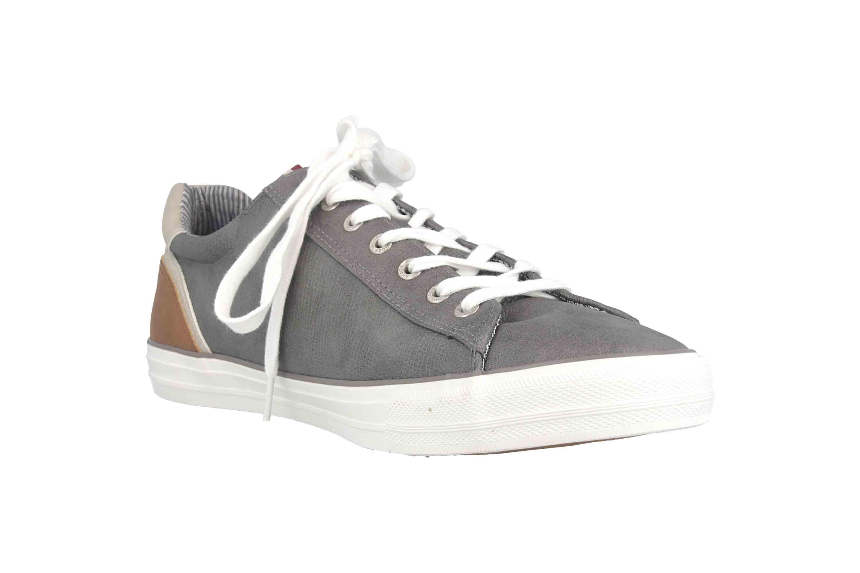 Mustang Shoes Sneaker in Übergrößen Grau 4127-302-20 große Herrenschuhe – Bild 5