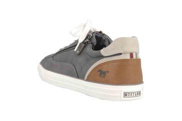 Mustang Shoes Sneaker in Übergrößen Grau 4127-302-20 große Herrenschuhe – Bild 2