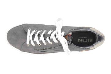 Mustang Shoes Sneaker in Übergrößen Grau 4127-302-20 große Herrenschuhe – Bild 7