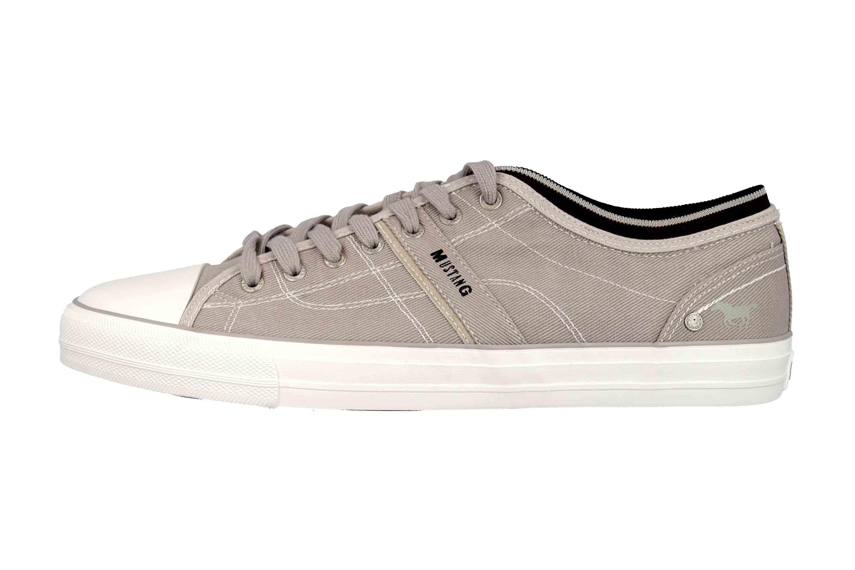 Mustang Shoes Sneaker in Übergrößen Grau 4127-303-22 große Herrenschuhe – Bild 1