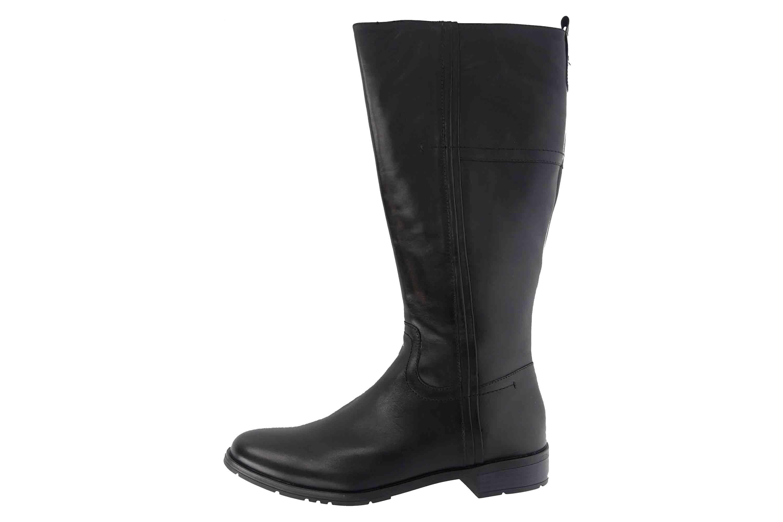 VIVACE Damen Schuhe Stiefel J3105 Gr 39 Schwarz Leder