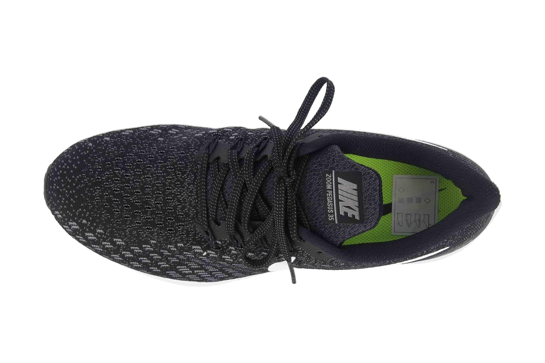 Nike Air Zoom Pegasus 35 Sneaker in Übergrößen Schwarz 942855 001 große Damenschuhe – Bild 7