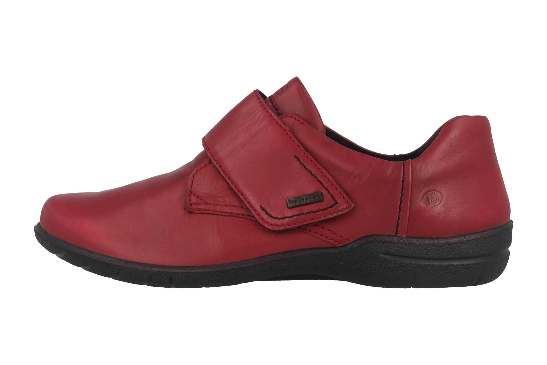 doppelter gutschein Outlet zu verkaufen klassische Stile Josef Seibel Josefine 55 Halbschuhe in Übergrößen Rot 92855 MI775 450 große  Damenschuhe