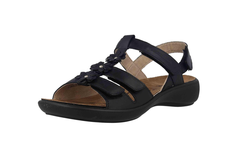 Romika Ibiza 95 Sandalen in Übergrößen Blau 16095 96 530 große Damenschuhe – Bild 6