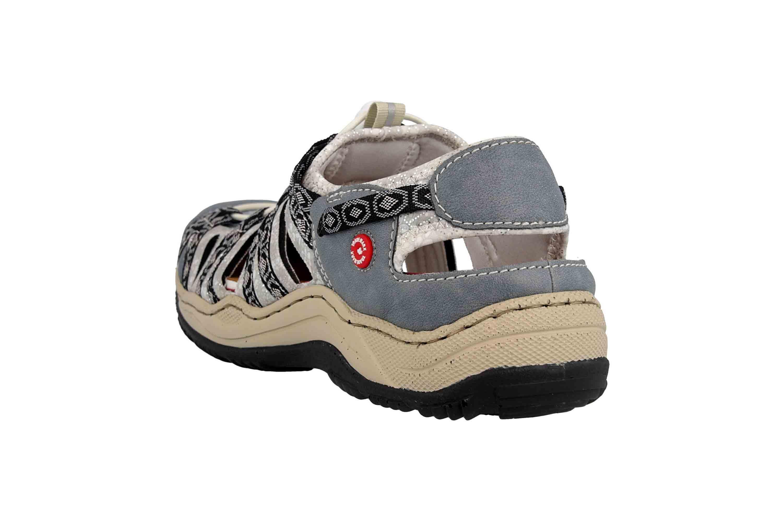 Rieker Sneaker in Übergrößen Blau L0577-12 große Damenschuhe – Bild 2
