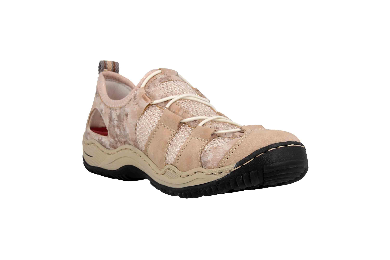 Rieker Sneaker in Übergrößen Rosa L0543-31 große Damenschuhe – Bild 5
