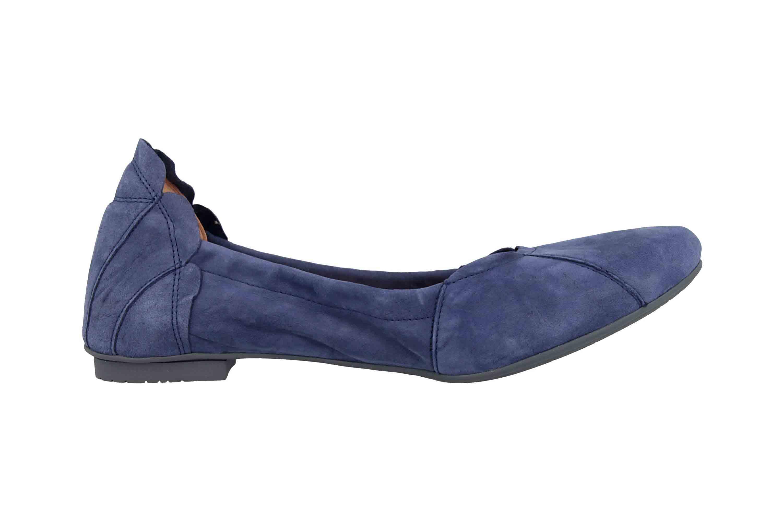 Think! Balla  Ballerinas in Übergrößen Blau 4-84160-89 große Damenschuhe – Bild 4