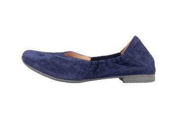 Think! Gaudi Ballerinas in Übergrößen Blau 4-84175-89 große Damenschuhe – Bild 1