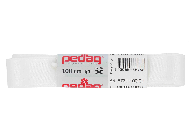 pedag - SATINSENKEL - Schnürsenkel 100 cm (1 Paar) 16 mm breit- Diverse Farben – Bild 3