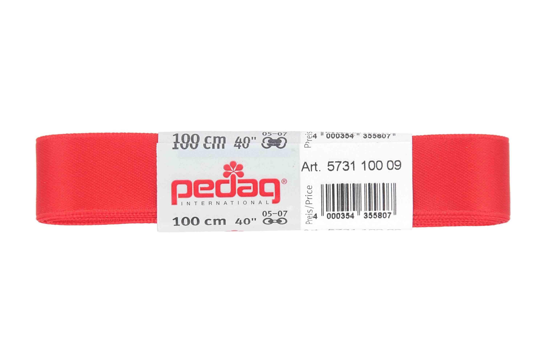 pedag - SATINSENKEL - Schnürsenkel 100 cm (1 Paar) 16 mm breit- Diverse Farben – Bild 4