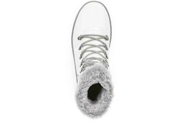 Remonte Stiefel in Übergrößen Weiß R8472-80 große Damenschuhe – Bild 7