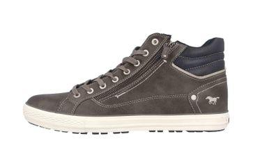 Mustang Shoes Sneaker in Übergrößen Grau 4129-502-20 große Herrenschuhe – Bild 1