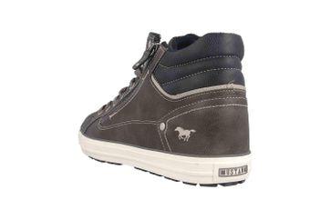 Mustang Shoes Sneaker in Übergrößen Grau 4129-502-20 große Herrenschuhe – Bild 2