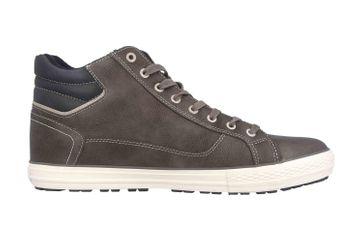 Mustang Shoes Sneaker in Übergrößen Grau 4129-502-20 große Herrenschuhe – Bild 4