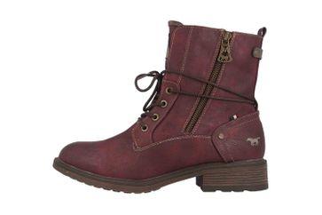 Mustang Shoes Boots in Übergrößen Bordeaux 1264-604-55 große Damenschuhe – Bild 1