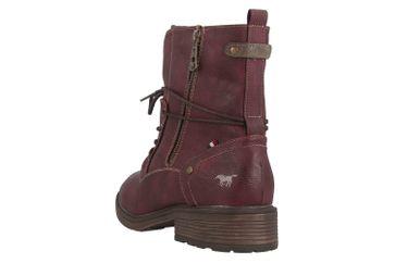 Mustang Shoes Boots in Übergrößen Bordeaux 1264-604-55 große Damenschuhe – Bild 2