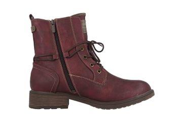 Mustang Shoes Boots in Übergrößen Bordeaux 1264-604-55 große Damenschuhe – Bild 4