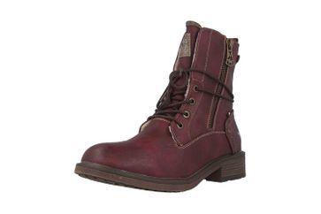 Mustang Shoes Boots in Übergrößen Bordeaux 1264-604-55 große Damenschuhe – Bild 6
