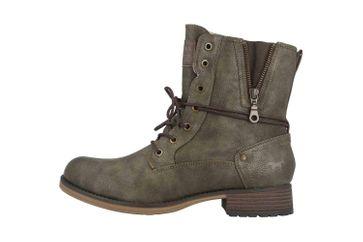 Mustang Shoes Boots in Übergrößen Grün 1139-630-77 große Damenschuhe – Bild 1