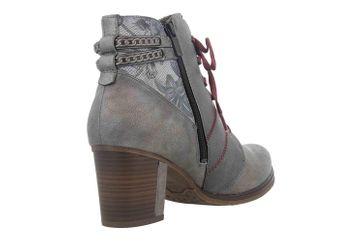 Mustang Shoes Stiefeletten in Übergrößen Grau 1286-507-2 große Damenschuhe – Bild 3