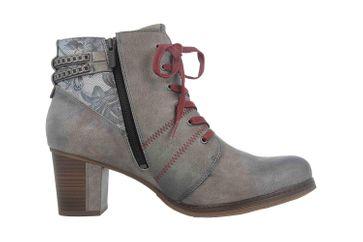 Mustang Shoes Stiefeletten in Übergrößen Grau 1286-507-2 große Damenschuhe – Bild 4