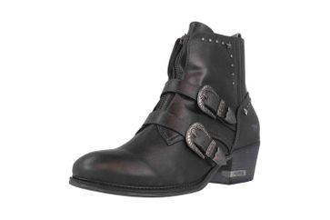 Mustang Shoes Stiefeletten in Übergrößen Grau 1346-501-259 große Damenschuhe – Bild 6