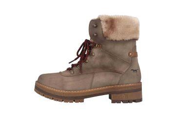 Mustang Shoes Boots in Übergrößen Taupe 1344-604-318 große Damenschuhe – Bild 1