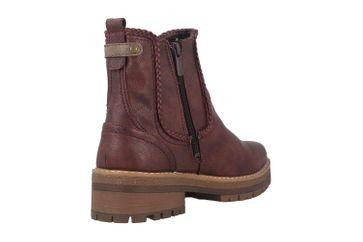 Mustang Shoes Boots in Übergrößen Bordeaux 1344-601-55 große Damenschuhe – Bild 3