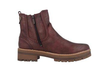 Mustang Shoes Boots in Übergrößen Bordeaux 1344-601-55 große Damenschuhe – Bild 4