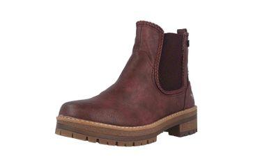 Mustang Shoes Boots in Übergrößen Bordeaux 1344-601-55 große Damenschuhe – Bild 6