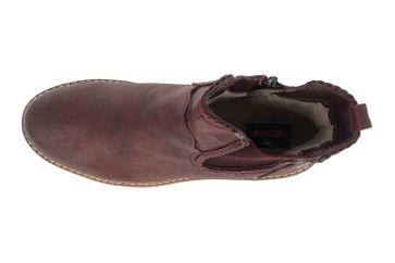 Mustang Shoes Boots in Übergrößen Bordeaux 1344-601-55 große Damenschuhe – Bild 7