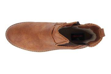 Mustang Shoes Boots in Übergrößen Braun 1344-601-307 große Damenschuhe – Bild 7