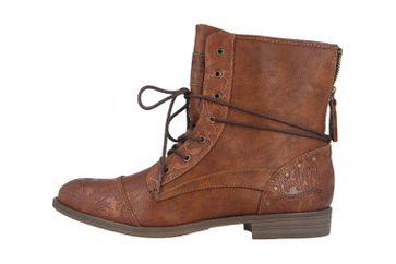Mustang Shoes Boots in Übergrößen Braun 1157-561-307 große Damenschuhe – Bild 1
