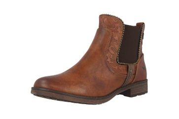 Mustang Shoes Boots in Übergrößen Braun 1265-516-307 große Damenschuhe – Bild 6