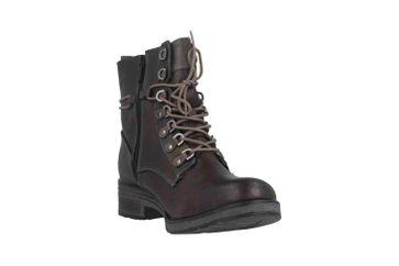 Mustang Shoes Boots in Übergrößen Schwarz 1293-508-9 große Damenschuhe – Bild 5