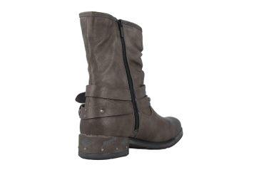 Mustang Shoes Boots in Übergrößen Grau 1332-503-20 große Damenschuhe – Bild 3