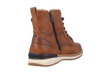 Mustang Shoes Boots in Übergrößen Braun 4141-601-307 große Herrenschuhe – Bild 3