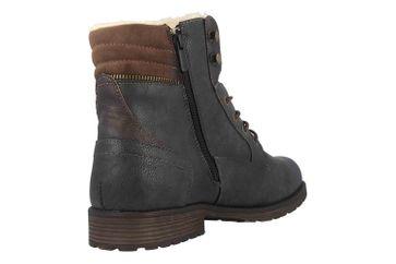 Mustang Shoes Boots in Übergrößen Grau 4119-604-259 große Herrenschuhe – Bild 3
