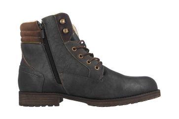 Mustang Shoes Boots in Übergrößen Grau 4119-604-259 große Herrenschuhe – Bild 4