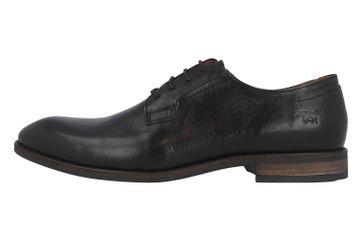 Mustang Shoes Halbschuhe in Übergrößen Schwarz 4904-306-9 große Herrenschuhe – Bild 1