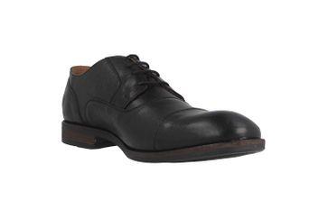 Mustang Shoes Halbschuhe in Übergrößen Schwarz 4904-307-9 große Herrenschuhe – Bild 5