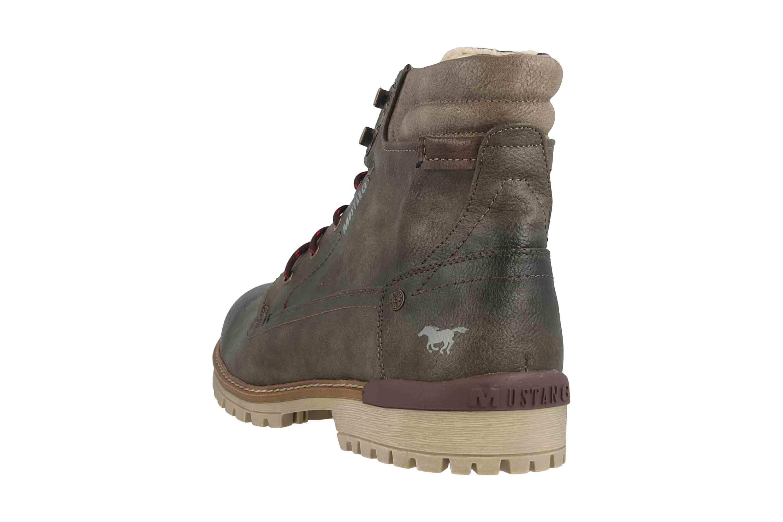 Mustang Shoes Herren Schuhe Sneaker grün