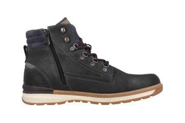Mustang Shoes Boots in Übergrößen Blau 4141-501-820 große Herrenschuhe – Bild 4