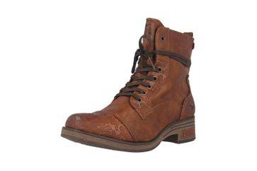 Mustang Shoes Stiefeletten in Übergrößen Braun 1293-501-307 große Damenschuhe – Bild 6