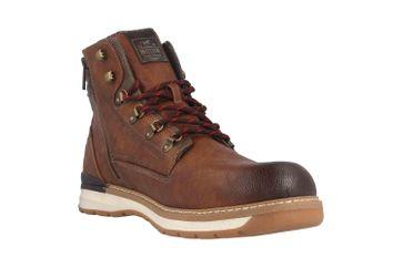 Mustang Shoes Boots in Übergrößen Braun 4141-501-301 große Herrenschuhe – Bild 5
